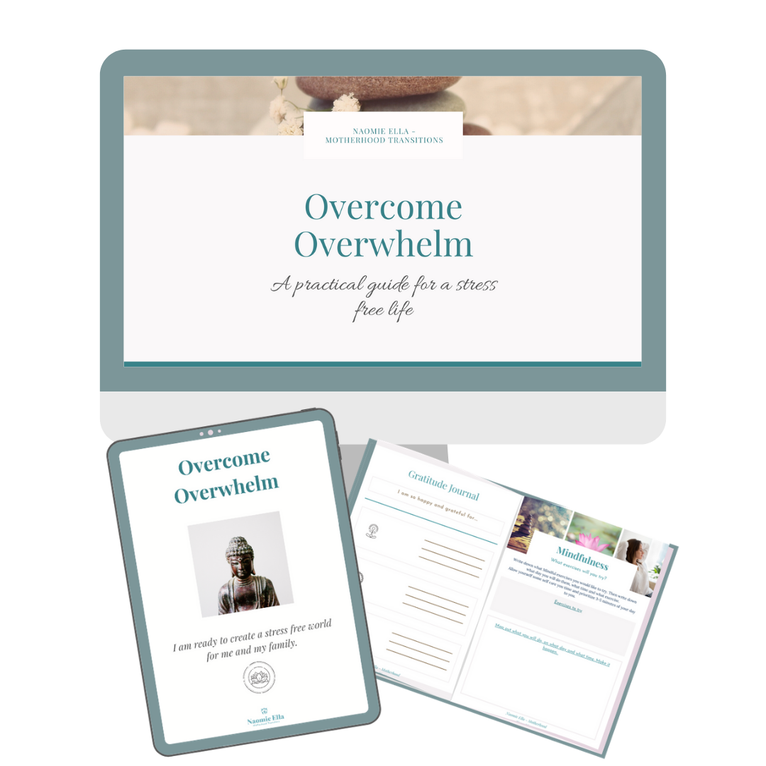 Overcome Overwhelm Mini course sales page