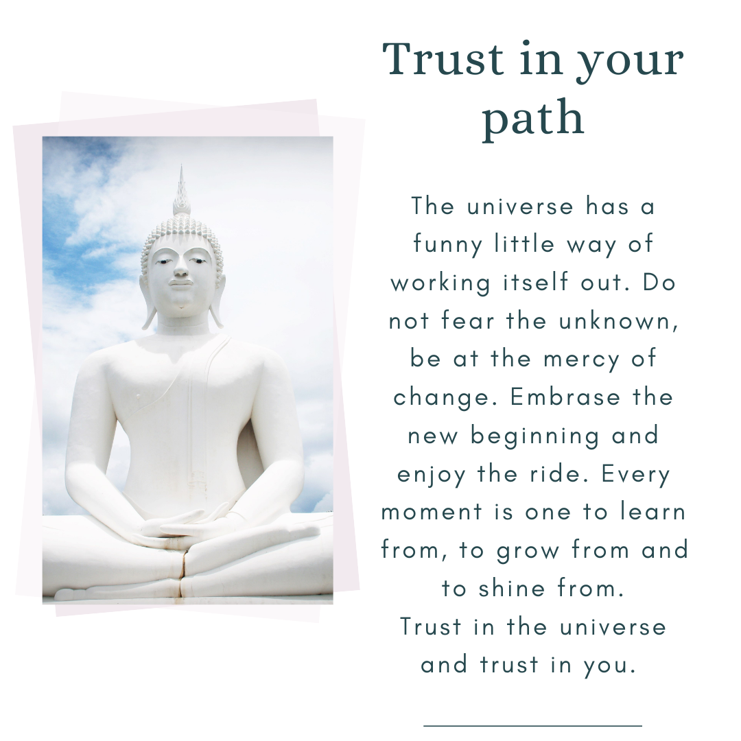 trust in your path