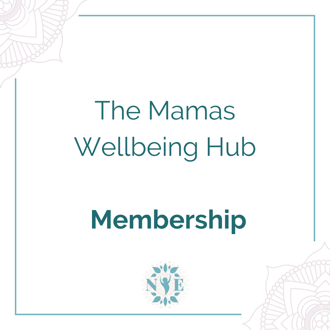 The Mamas Wellbeing Hub Button