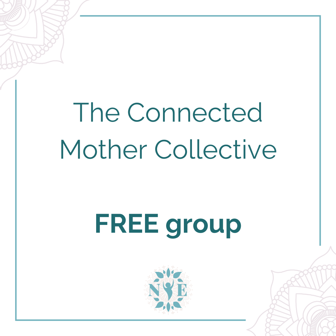 Connected Mother Collective Button
